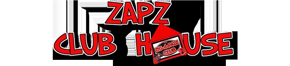 ZAPZ CLUBHOUSE Logo